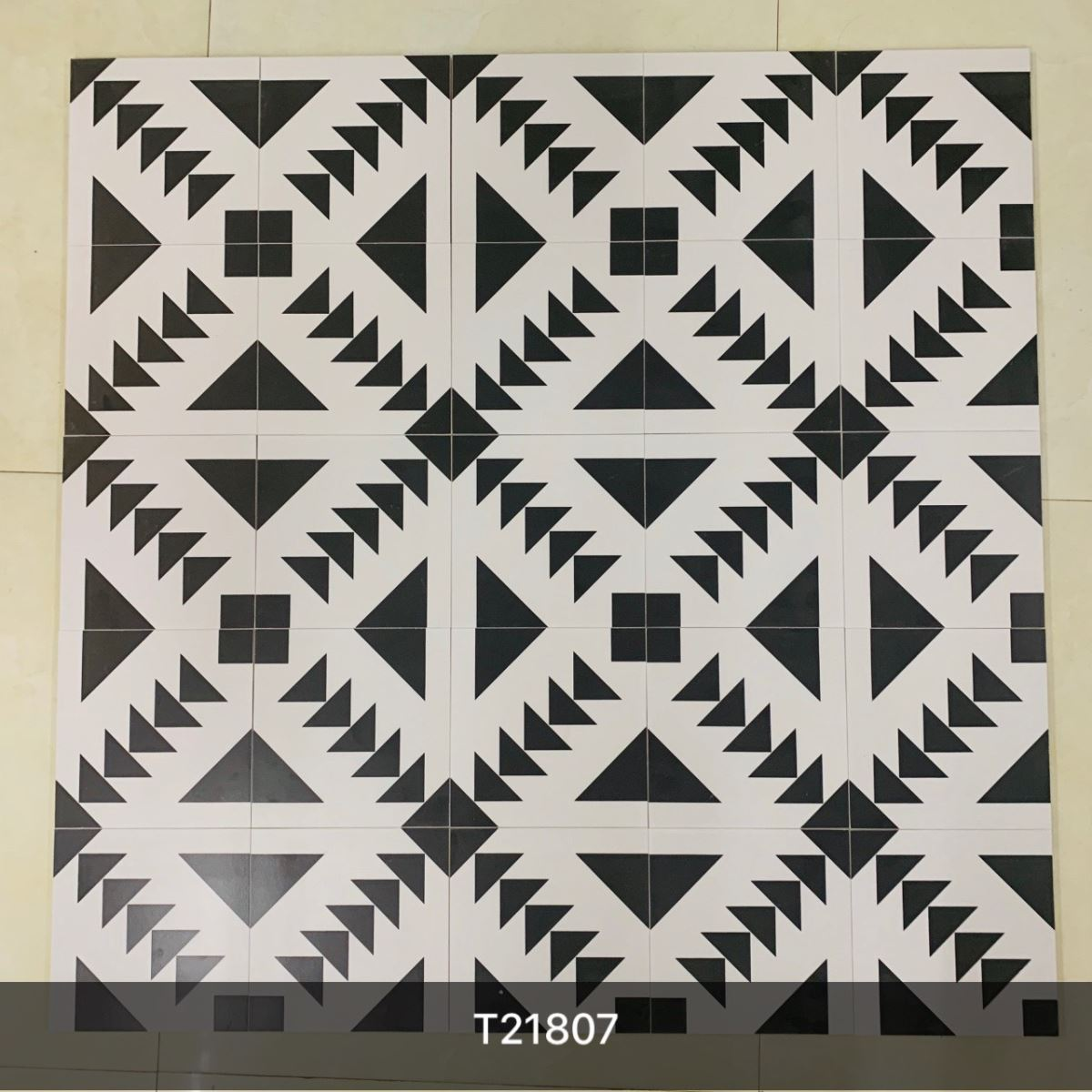 Gạch bông men 20x20 (cm) RYGBM045